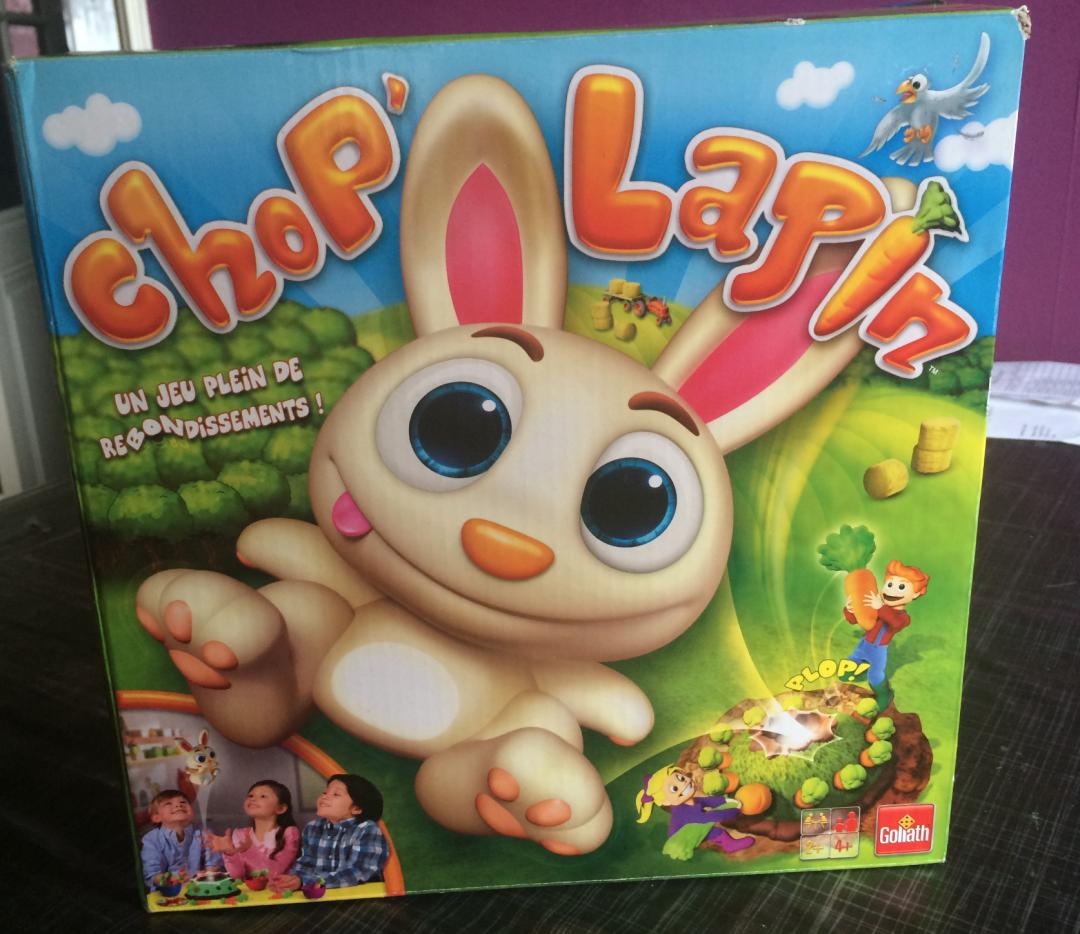 Chop Lapin – Jeux de societe Goliath