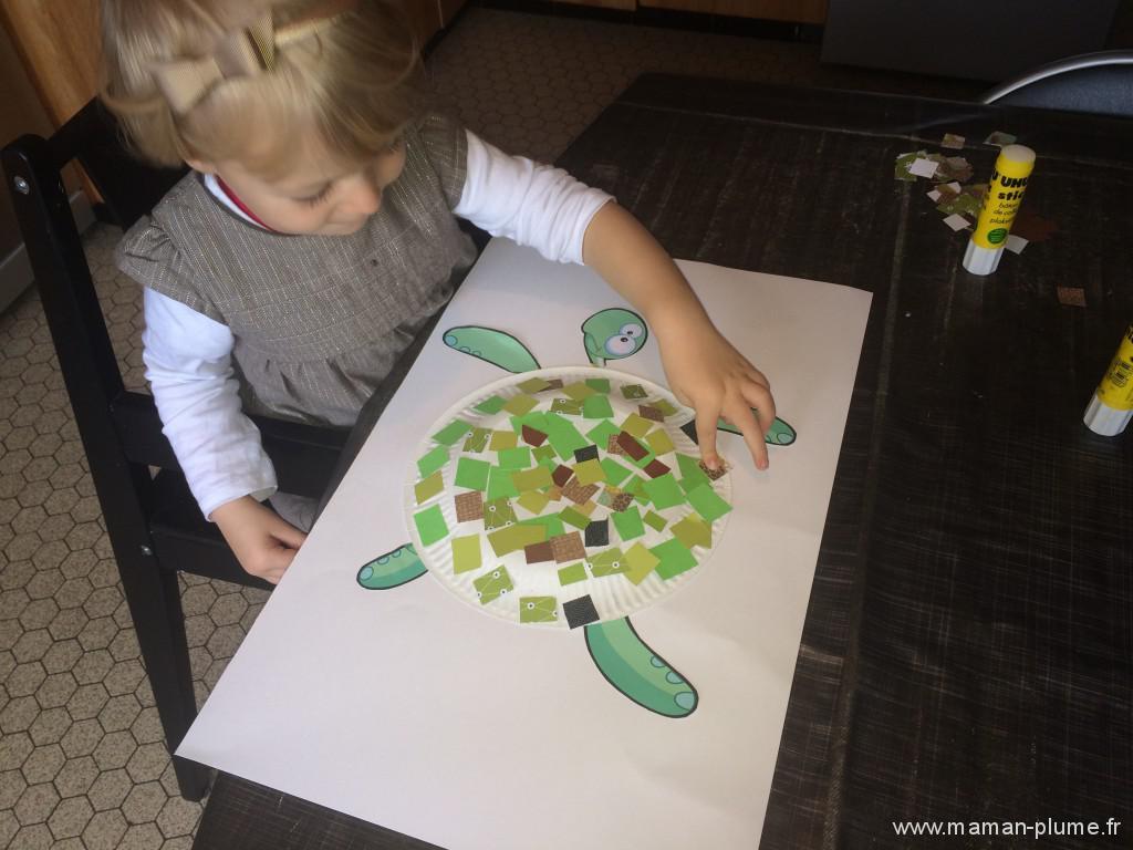 Maman, dessine moi une tortue
