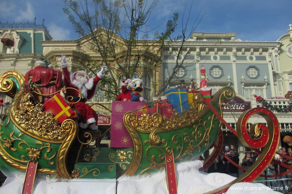 Disneyland à Noel avec les enfants