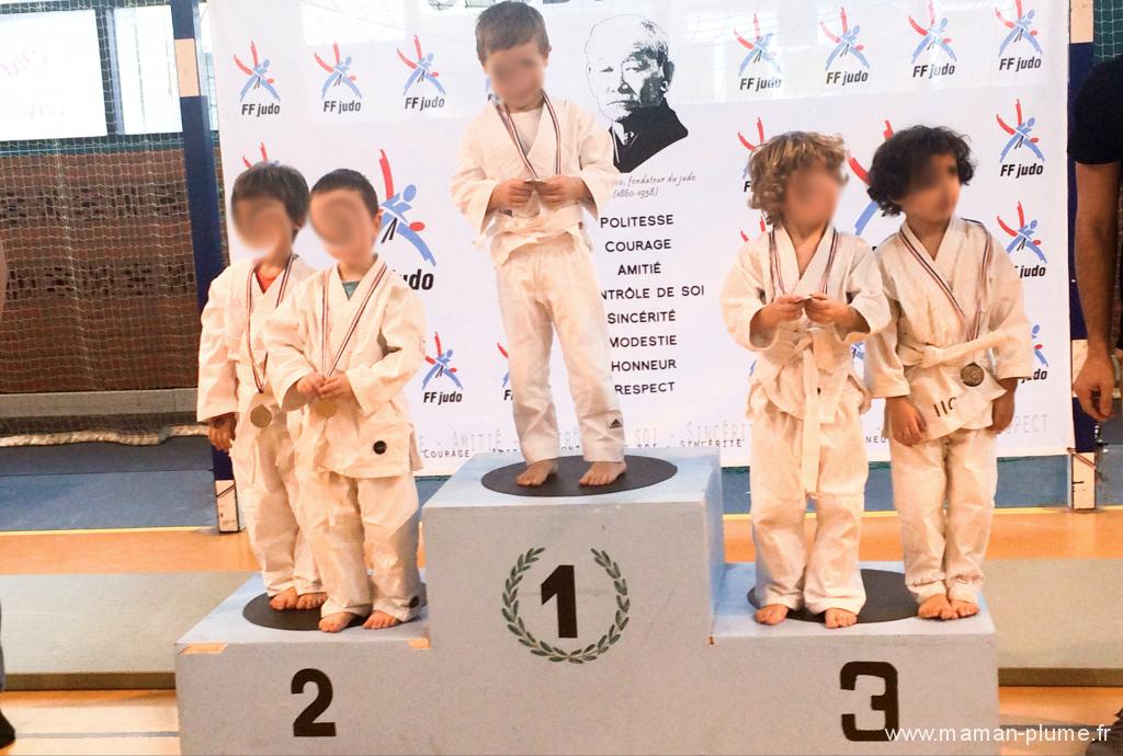 gagner competition judo enfant