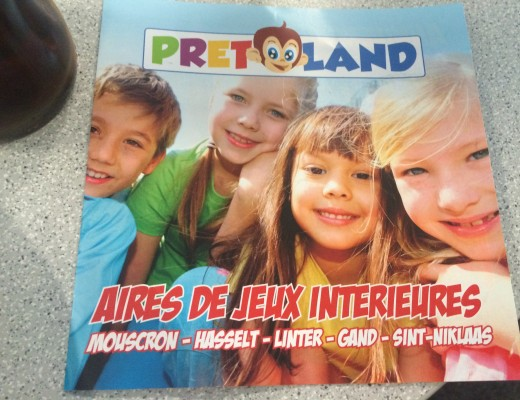 Aire de jeux PretLand à Mouscron