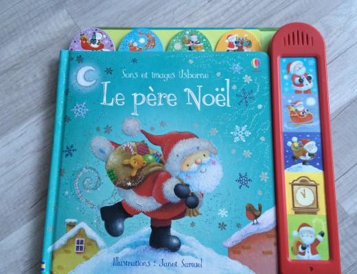 Livre Sons et images – Le pére Noël – Usborne