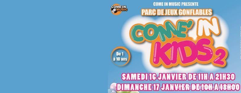 Com'in Kids 2 – Jeux gonflables