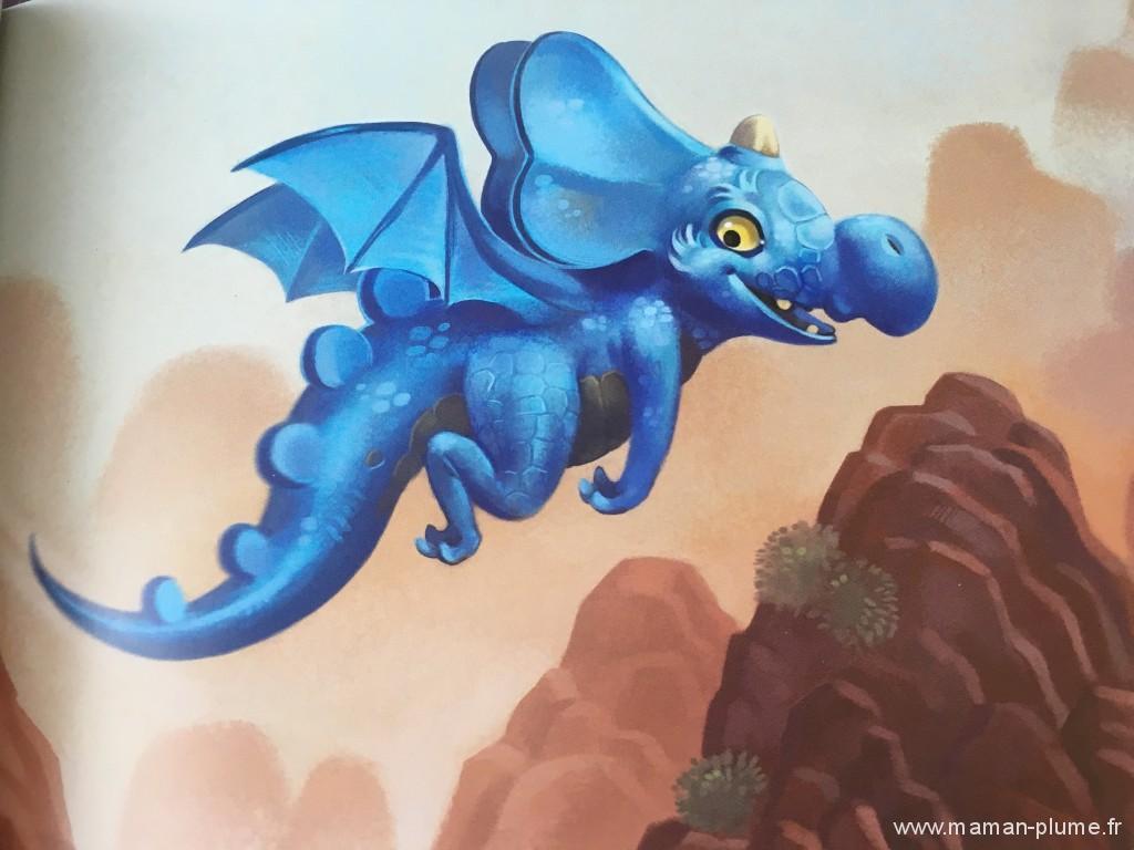 Editions France Loisirs – Azuro le dragon bleu et Simon le raton laveur