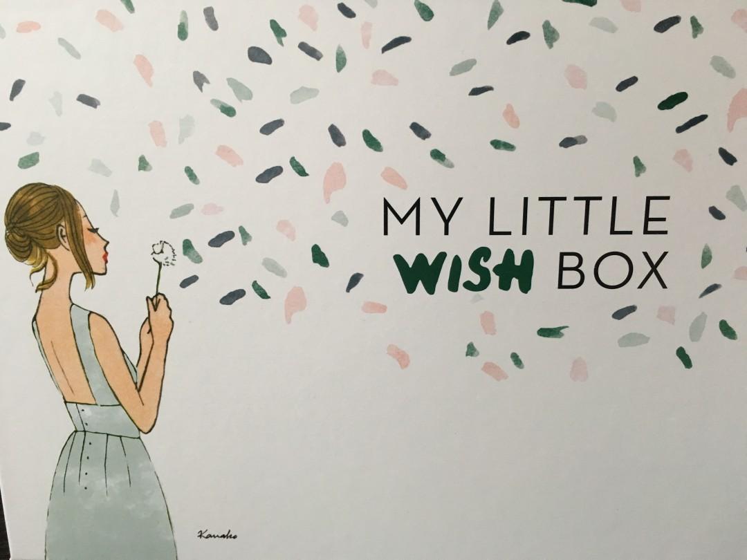 My Little Box – Wish box de Janvier 2016