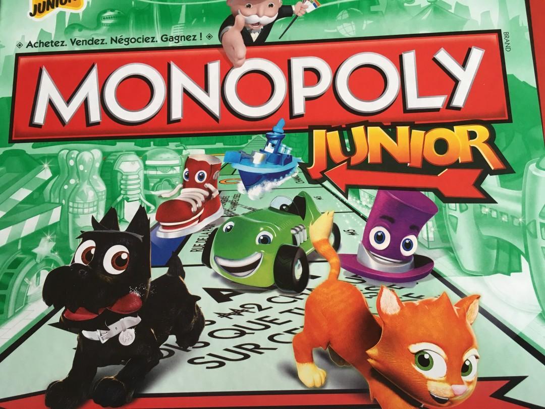 Monopoly Junior, le connaissez vous ?