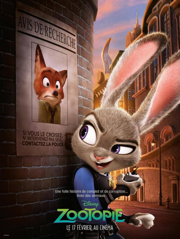 Zootopie Au Cinema Dessin Anime De Walt Disney Le Blog De Maman