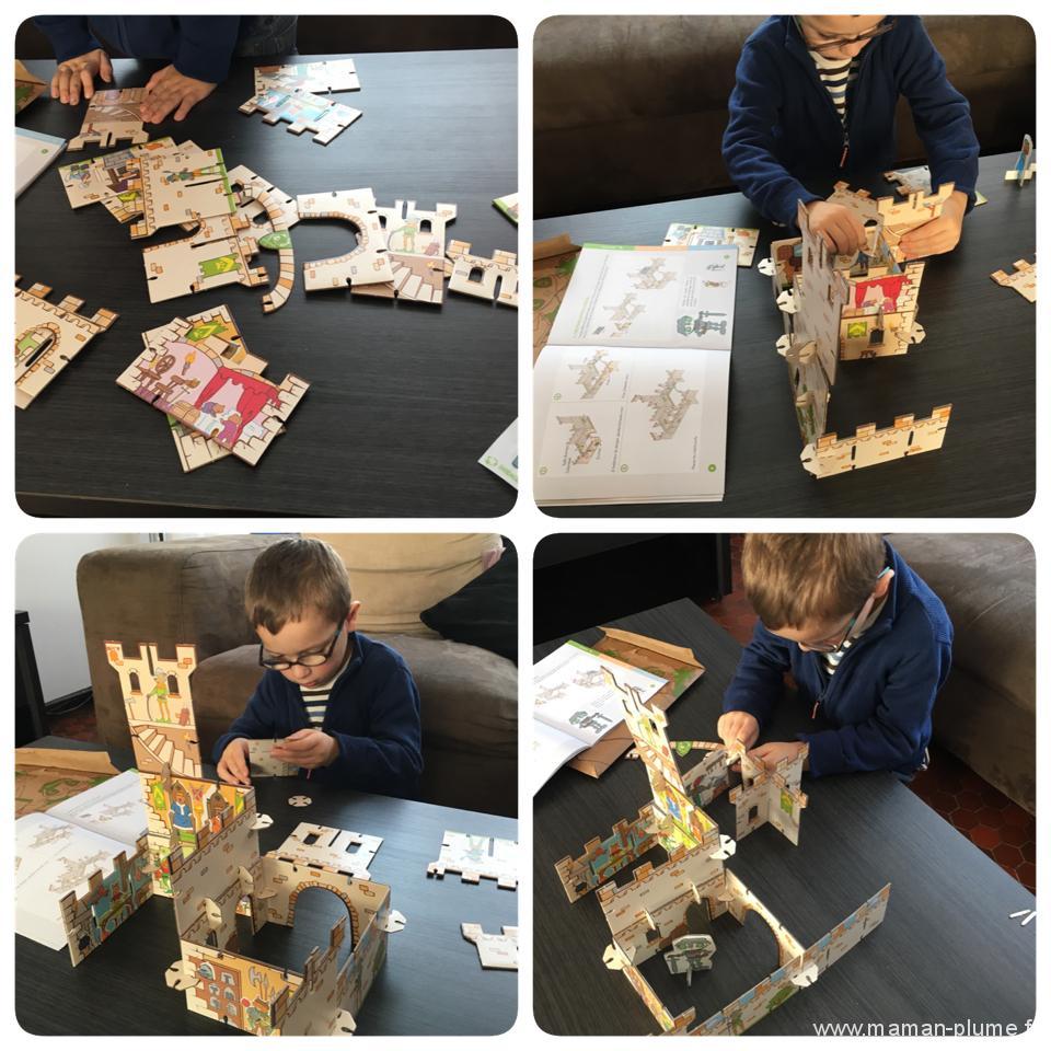 montage chateau pandacraft