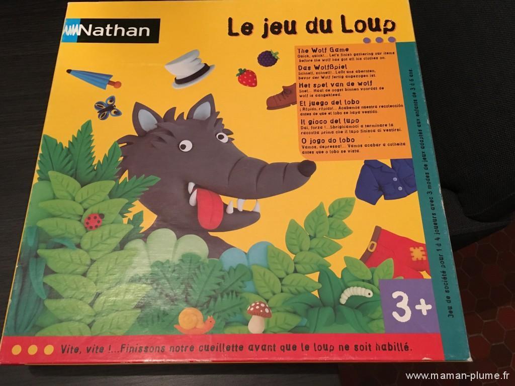 le jeu du loup de nathan le blog de maman plume. Black Bedroom Furniture Sets. Home Design Ideas
