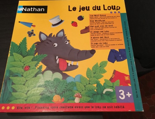 Le jeu du loup de Nathan
