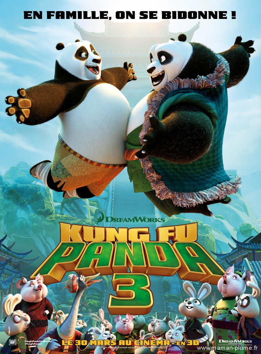 Un petit cinéma – Kung Fu panda 3