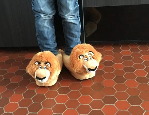 Les chaussons Sleeper'z doux et super chauds !