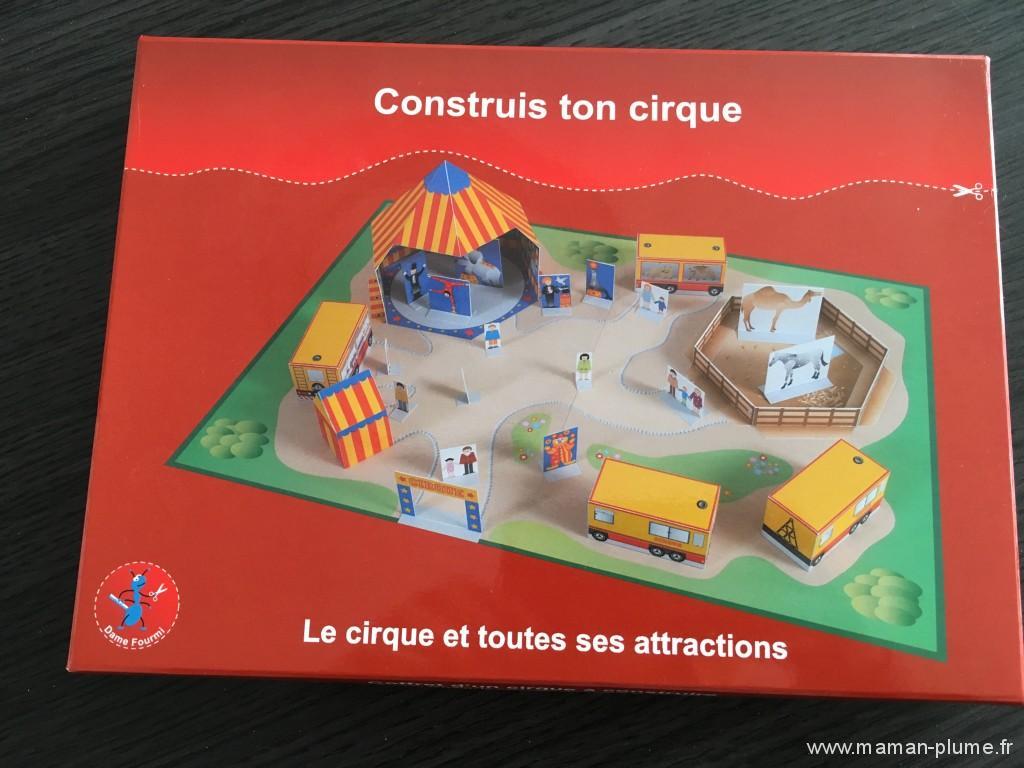 construie ton cirque avec dame fourmie