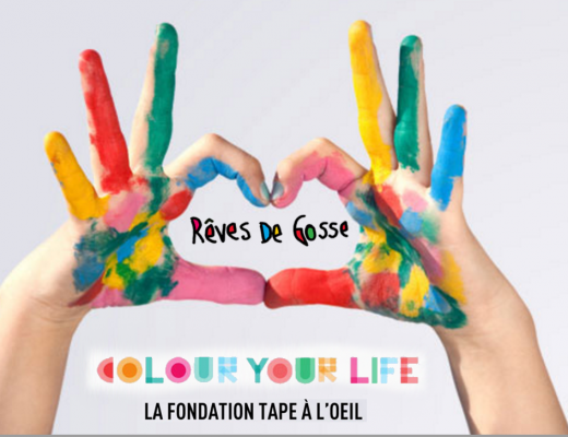 Tape à l'oeil – Fondation Colour your life