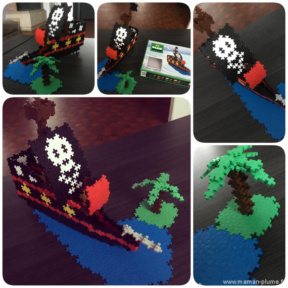 jeu plus plus pirate bateau