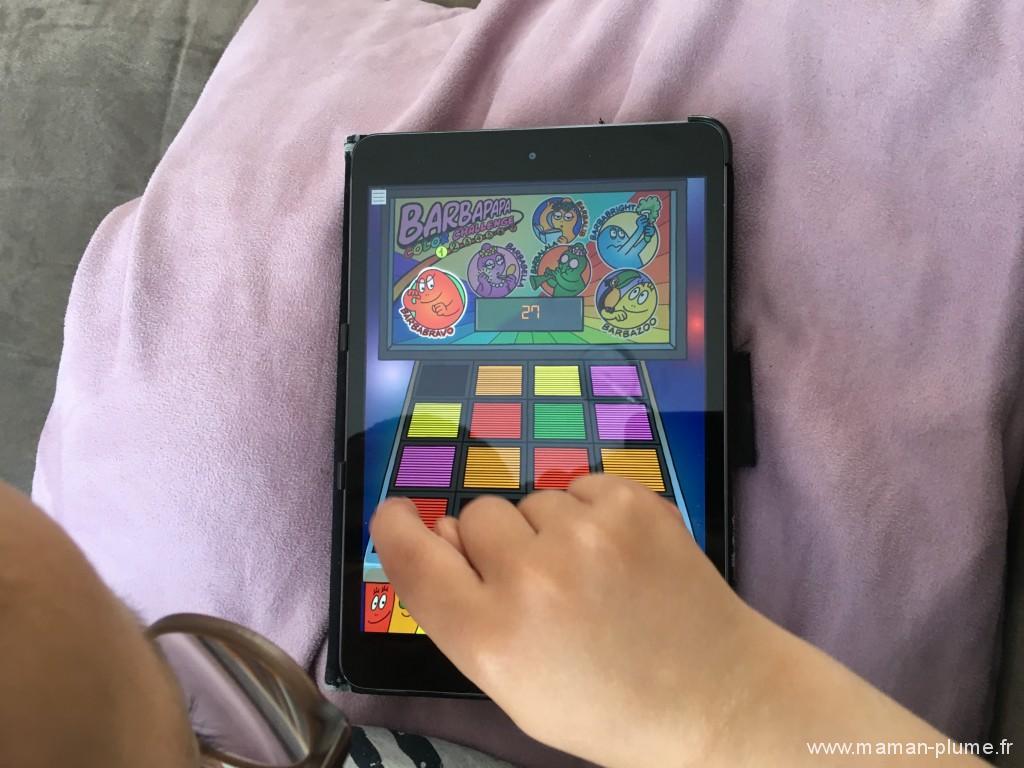 Jeu tablette Barbapapa avec AppsGo !