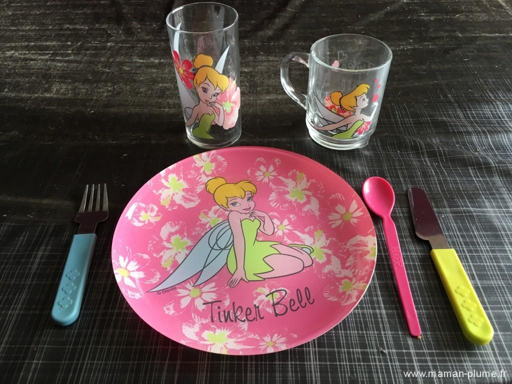 la table d'arc - assiette enfant