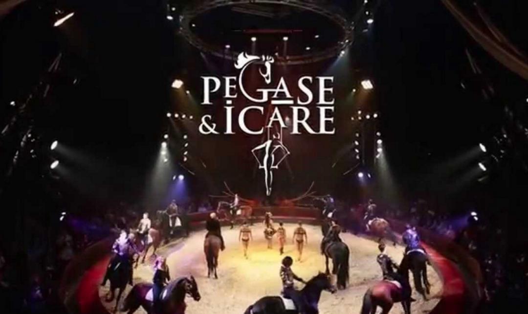 Spectacle Pégase et Icare – Alexis Gruss à Lille