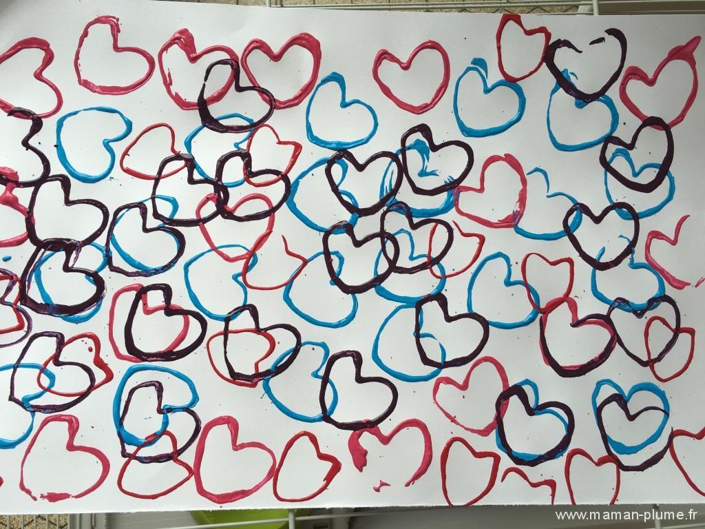 tableau coeur fete des meres
