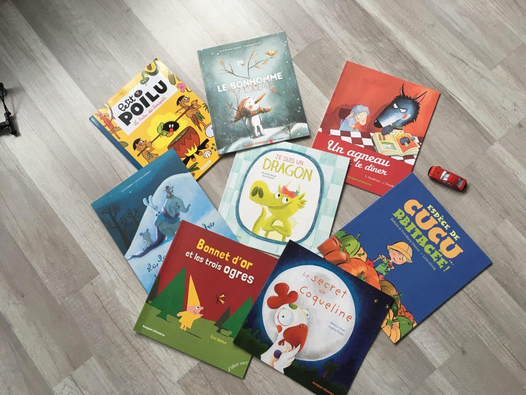 1 an avec Bouquet d'histoires – Abonnement livres
