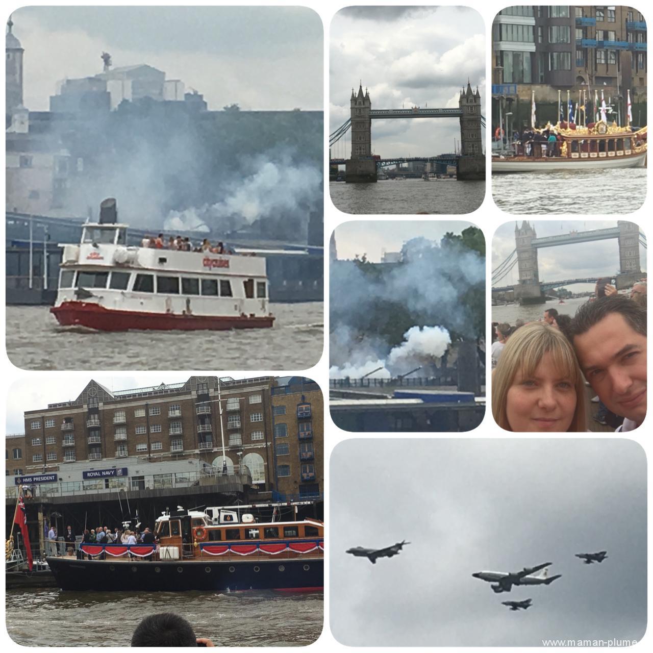 Londre - bateau taxi