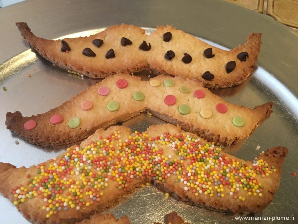 biscuit fete papa moustache