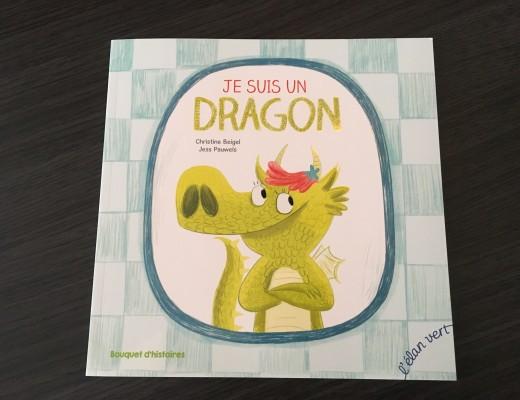 Avec Bouquet d'histoires, on lit… Je suis un dragon