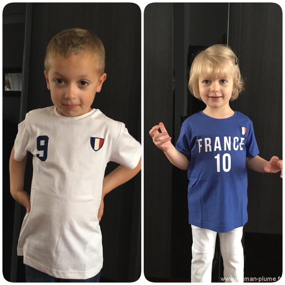 euros 2016 enfant tshirt
