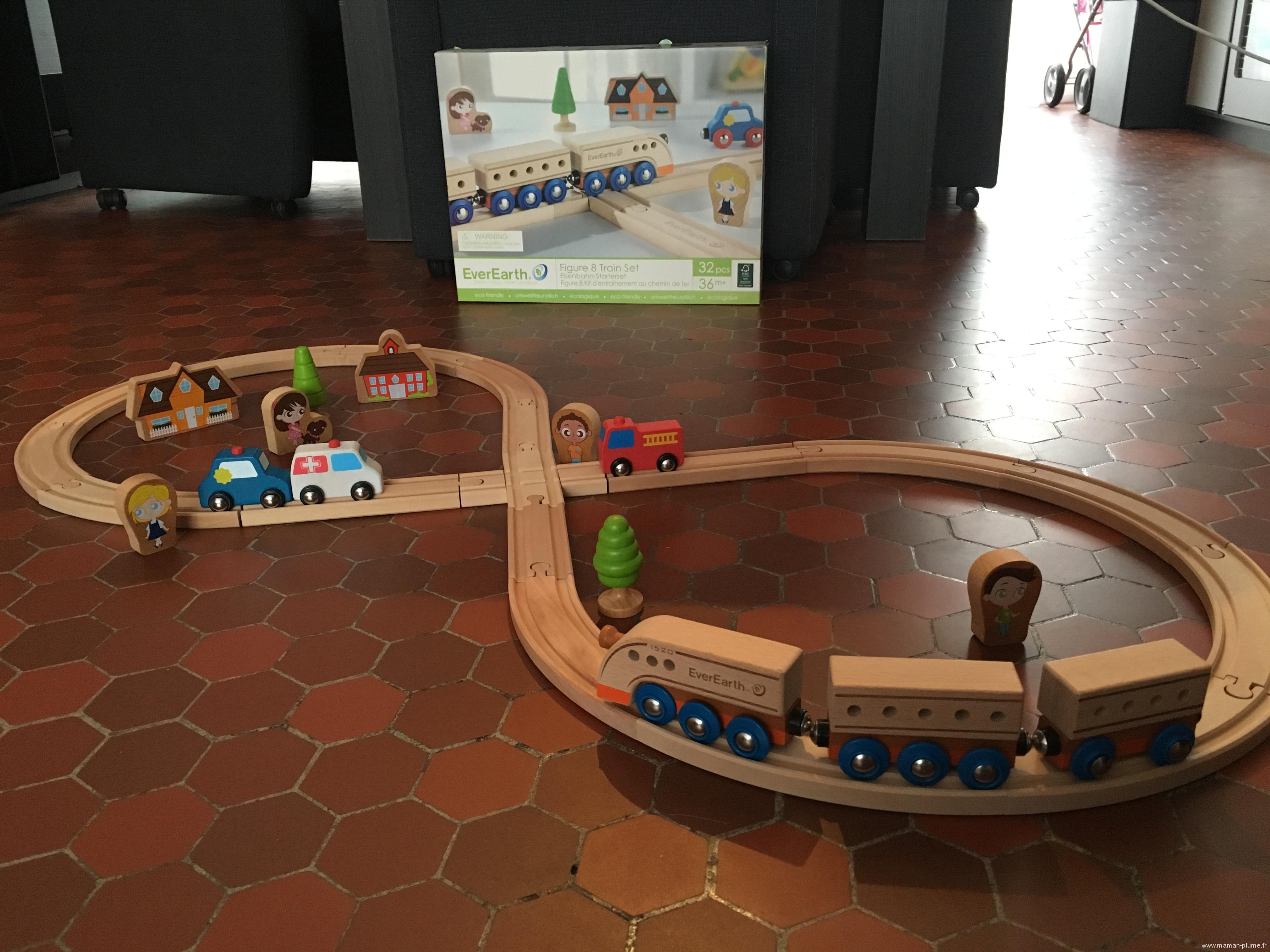 jeu ecologique everearth train