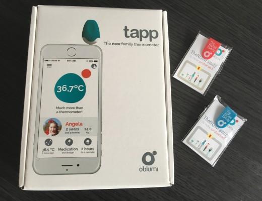Prendre la température avec un téléphone, c'est facile avec Oblumi Tapp