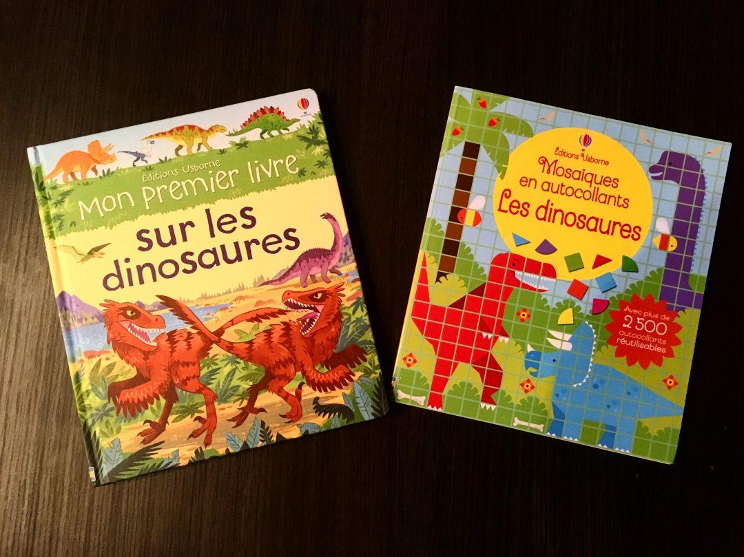 Des livres sur les dinosaures – Editions Usborne