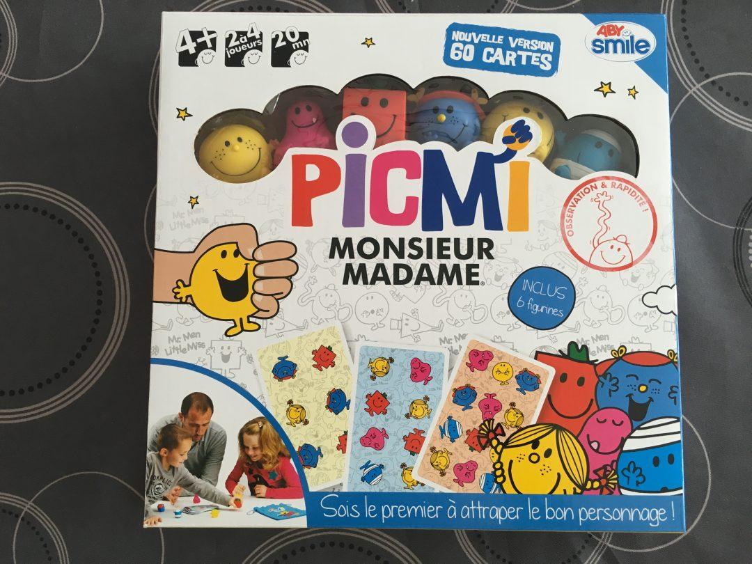 Le jeu Picmi Monsieur et Madame de Abysmile