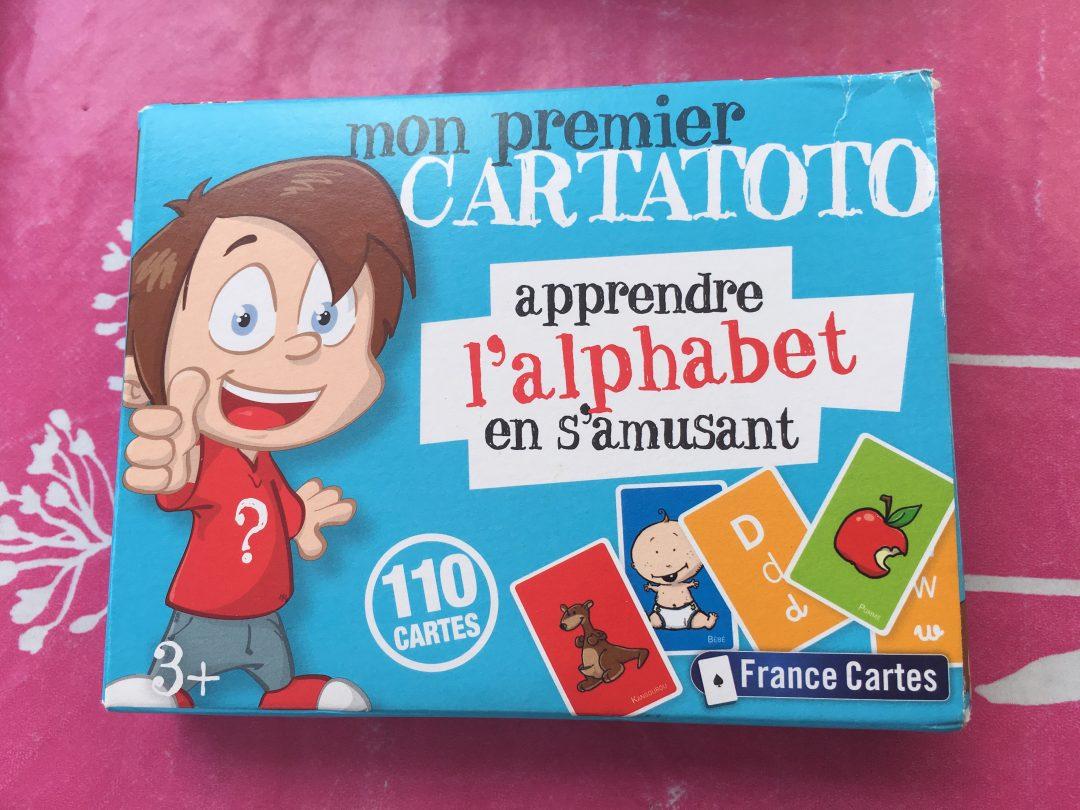 Apprendre l'alphabet en s'amusant avec Cartatoto