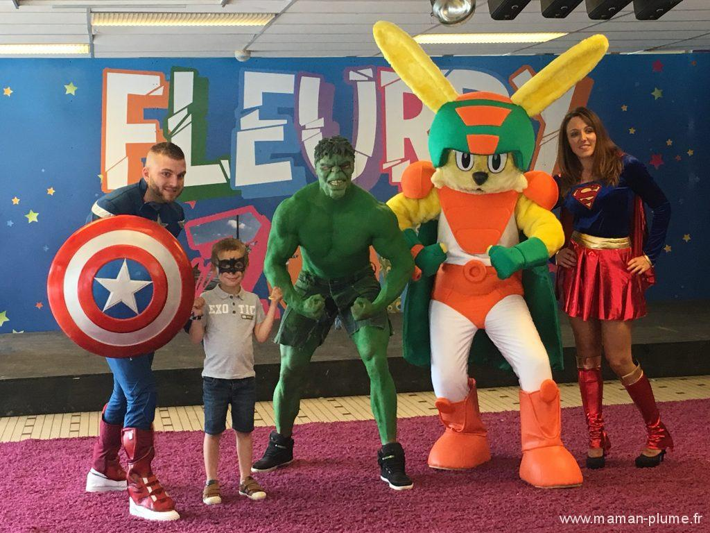 le fleury super heros avengers