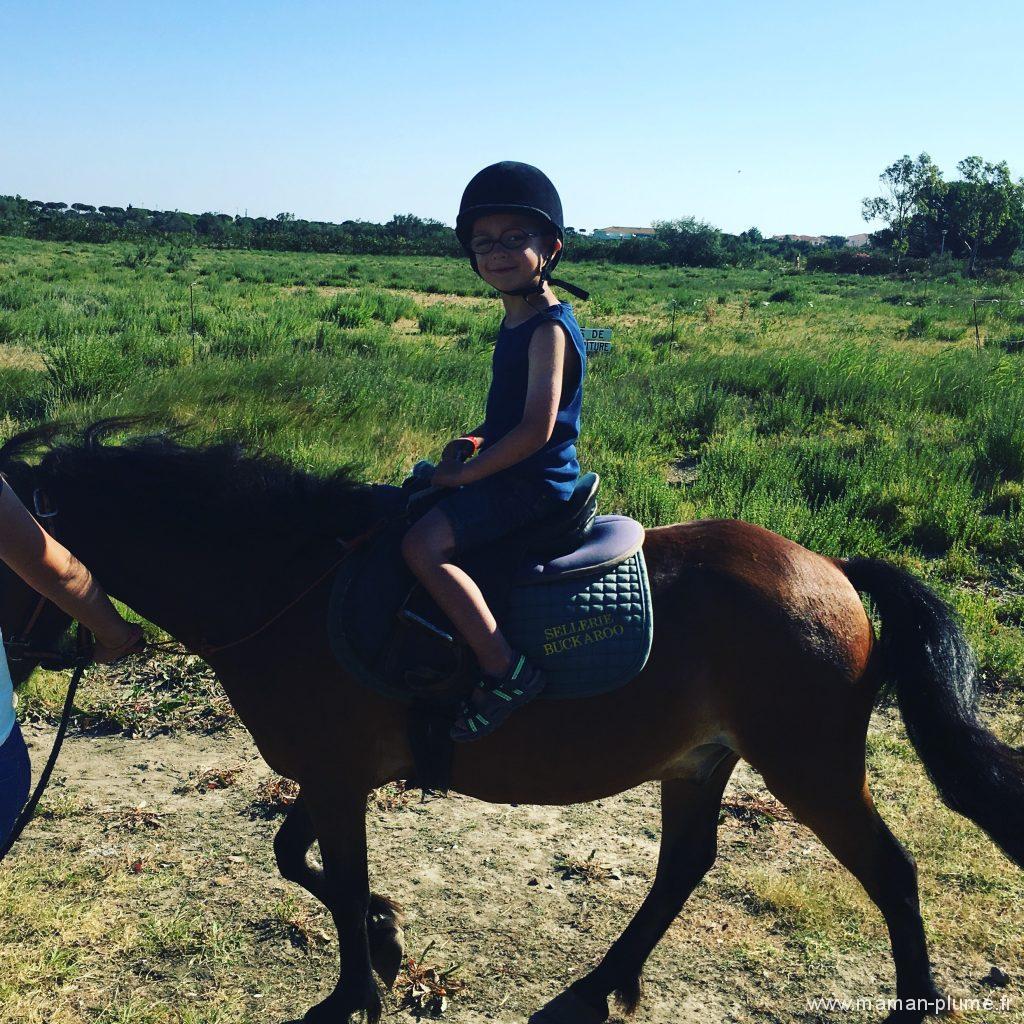 promenade poney camping le bahia