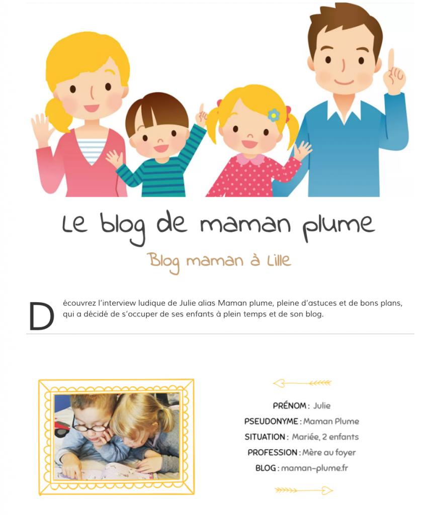 Blog maman lille