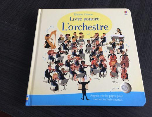 Livre sonore L'orchestre de Usborne