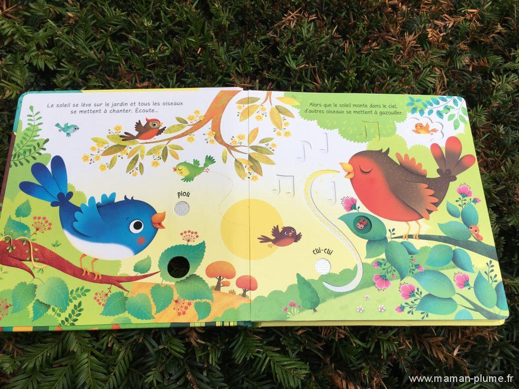 les bruits du jardin - Usborne - page