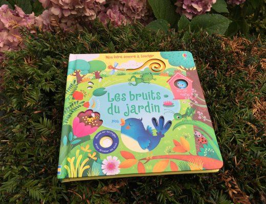 Livre sonore – Les bruits du Jardin – Usborne