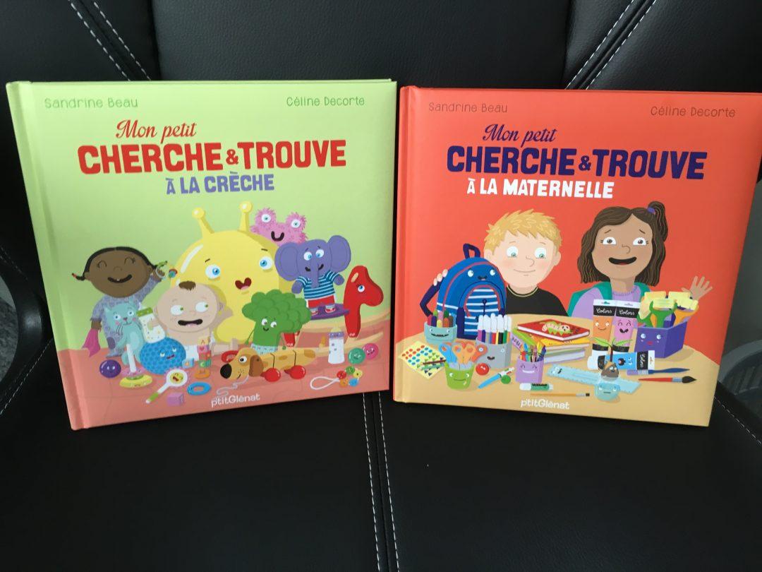 Mon petit cherche et trouve à la créche et à la maternelle – Editions P'tit Glénat