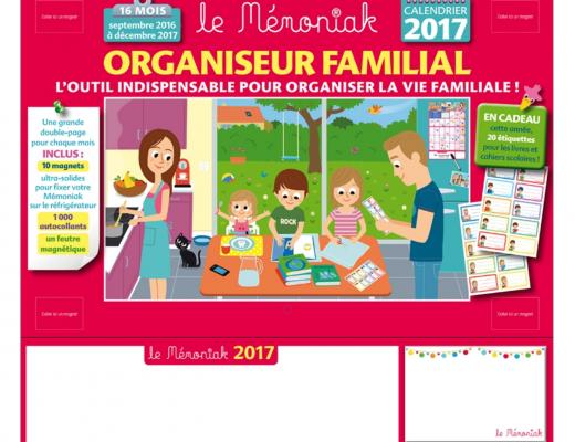 Organiser sa vie familiale avec le Mémoniak