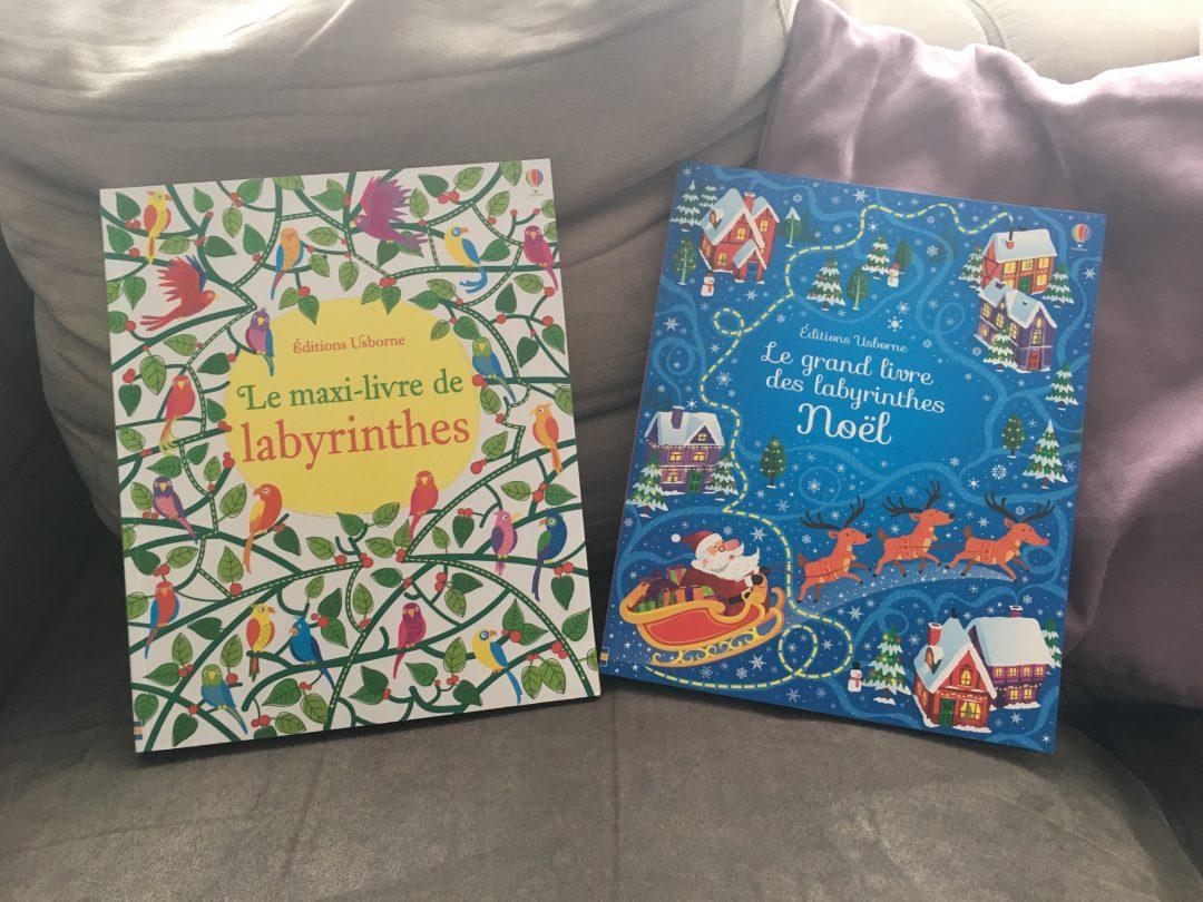 Le grand et Maxi livre des Labyrinthes des Editions Usborne
