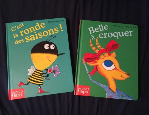 C'est la ronde des saisons – Belle à croquer des Editions Casterman