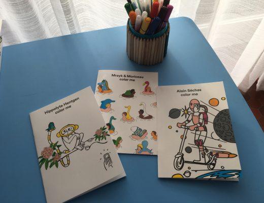 Color me : Un cahier de coloriage fait par des artistes