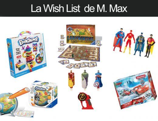 La Wishlist de Noel de M. Max 5 ans