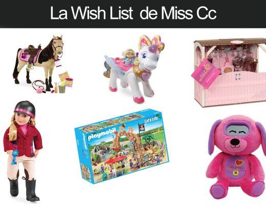 La Wishlist de Noel de Miss CC 3 ans