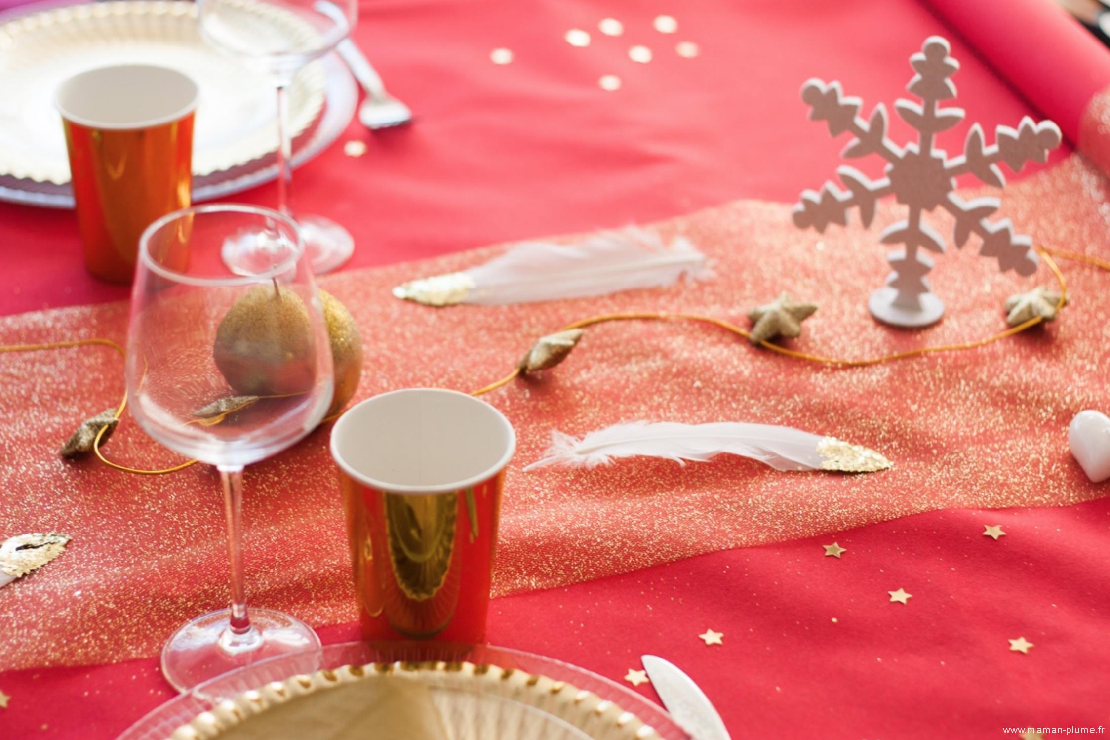Decoration de table noel 2016 blog maman le blog de maman plume - Decoration de noel 2016 ...