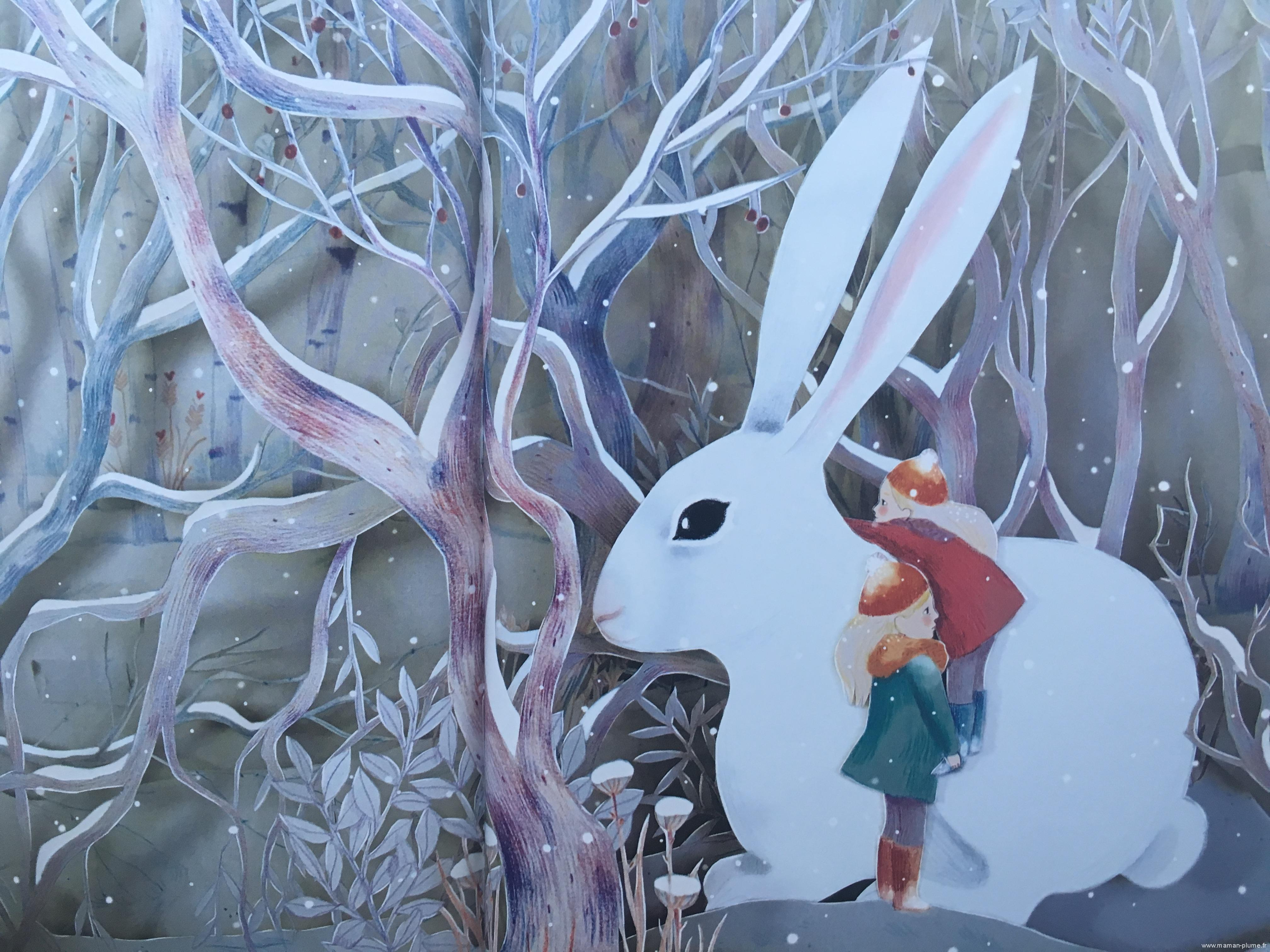 Le lapin de neige – Edition Casterman