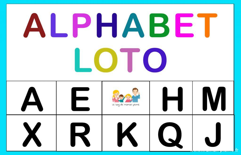 Un petit Loto Alphabet juste pour vous, ça vous tente ?
