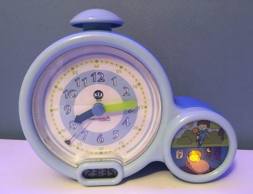 Kid Sleep Clock Bleu mon premier réveil de grand